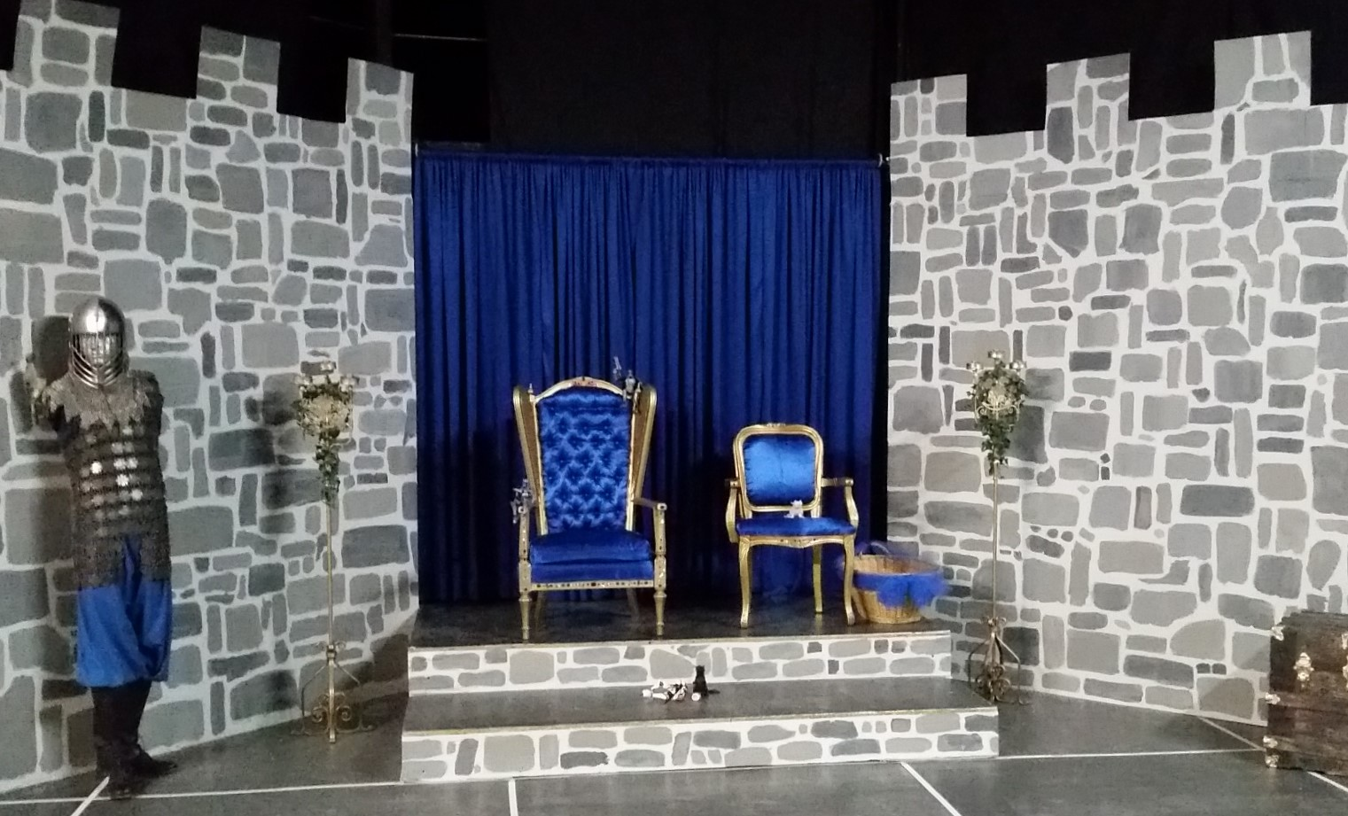 The castle throne room
